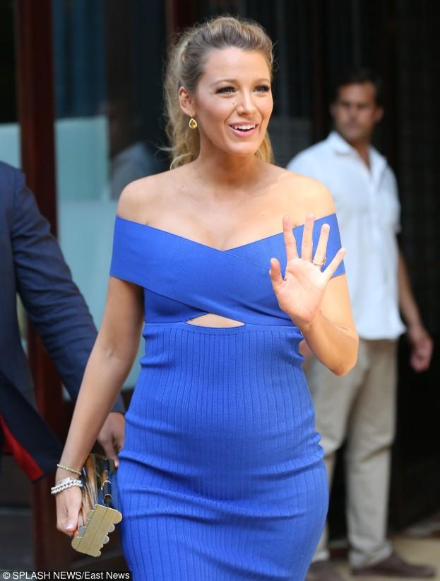 Blake Lively zachwyca ciążowymi stylizacjami