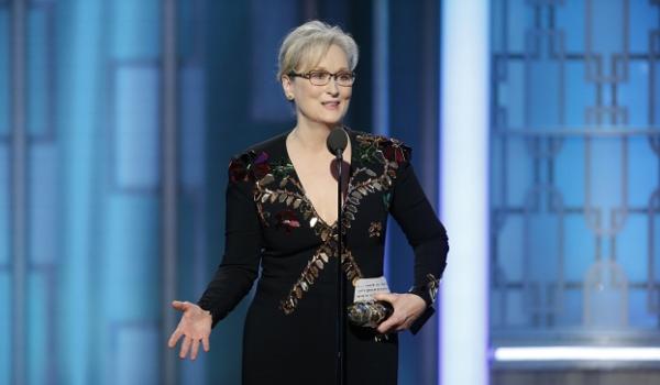 Meryl Streep na Złotych Globach